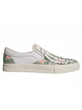 Banana Leaf Skeleton Slip-on Sneakers