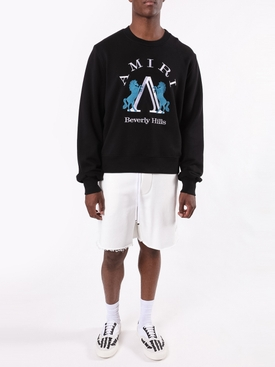 Beverly Hills logo sweatshirt BLACK