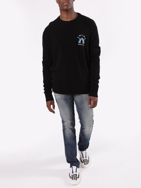 Beverly Hills knit sweater BLACK