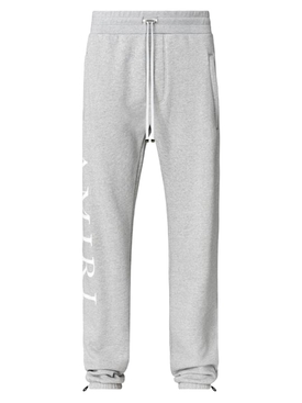 Side logo sweatpants HEATHER GREY