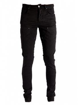 Workman Skinny Denim Jeans BLACK