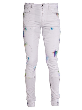 Painter Workman Skinny Jeans White