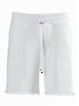 Core sweat shorts WHITE