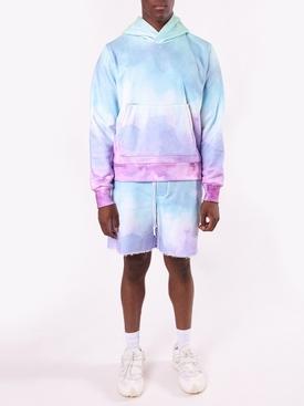 Watercolor Print Shorts