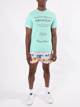 Watercolor Patches Swim Trunks