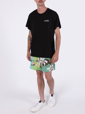 Hawaiian swim trunks