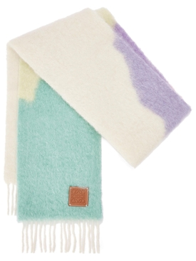 MOHAIR WOOL MULTICOLOR SCARF