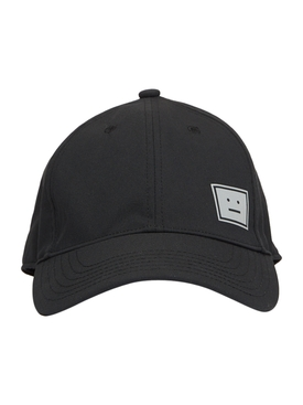 Black and Grey Logo Baseball Cap