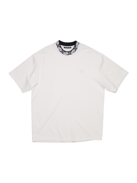 Collar Logo T-shirt OPTIC WHITE
