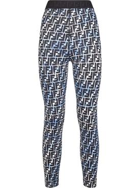 X Joshua Vides Logo print leggings