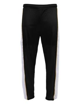 Black and white jogger pants