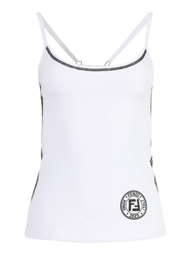 Fendirama active tank top WHITE