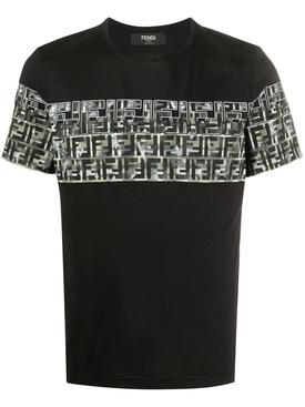 CamouFFlage Logo print T-shirt BLACK/NERO