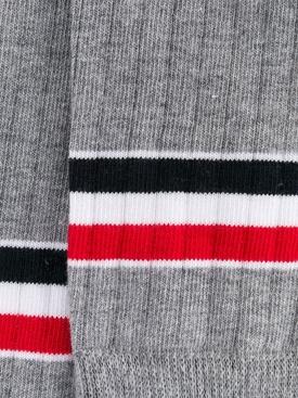 Light Grey Athletic Mid-Calf Socks