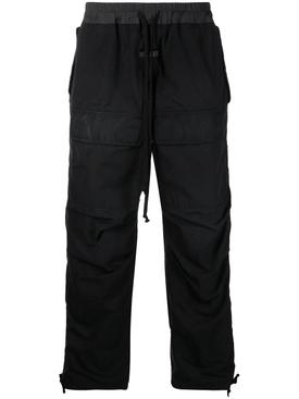 DRAWCORD CARGO PANT BLACK