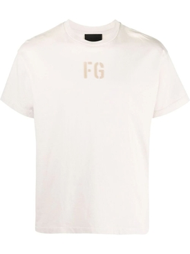 Classic Crewneck T-shirt, VINTAGE CONCRETE WHITE