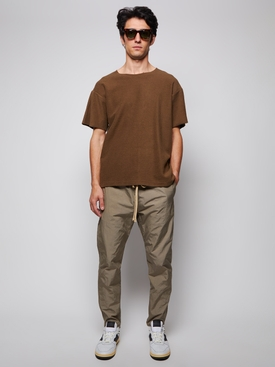 Inside Out Terry Tee, MOCHA
