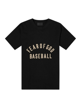 Baseball T-shirt, Black