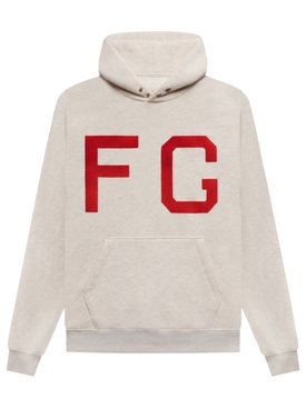 CLASSIC MONARCH HOODIE CREAM AND RED