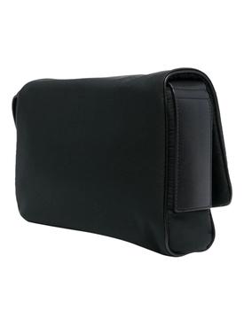 Black Leather Essential Crossbody bag