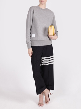 Tricolor Back Stripe Sweatshirt