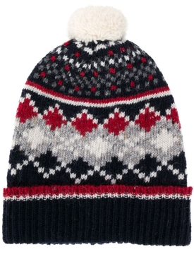SEASONAL FAIR ISLE HAT