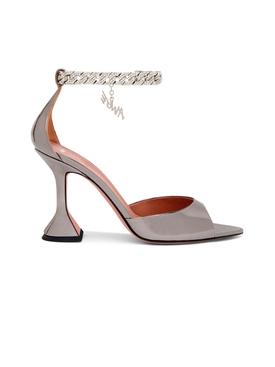 X AWGE Flacko Sandal Dark Silver