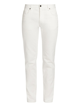 White Slim Denim pants