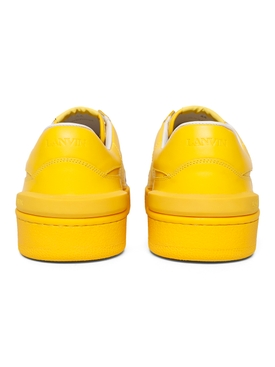 X GALLERY DEPT. YELLOW CLAY LOW TOP SNEAKERS