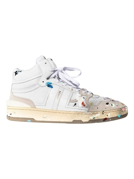 X GALLERY DEPT. CLAY HIGH TOP SNEAKERS