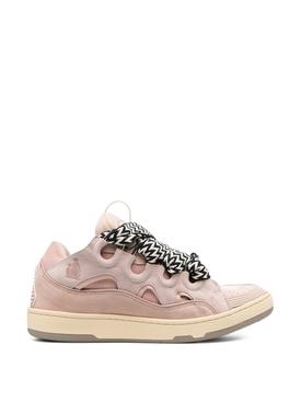 LOW-TOP SKATE SNEAKERS Pale Pink