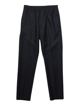 Regular-fit Wool Pants NAVY