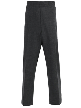 Dark Grey Wool Pants