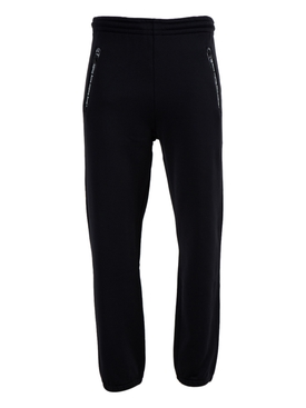 Logo Pocket Trim Jogger Sweat Pants BLACK