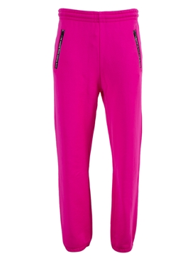 Logo Pocket Trim Jogger Sweat Pants MAGENTO PINK