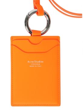 Neon Orange Logo Lanyard