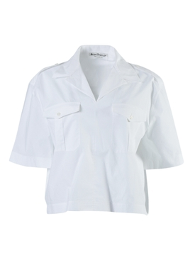 Acne Studios - White Poplin Button-down Shirt - Women