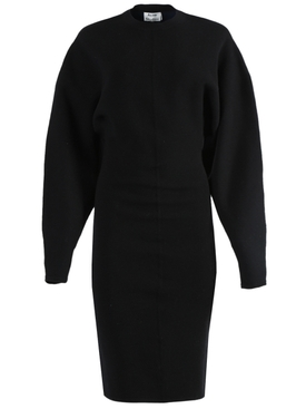 Acne Studios - Black Mid-length Sweater Dress - Women