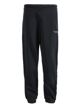 Acne Studios - Black Inverted Logo Jogger Pants - Women