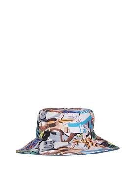 X David Salle Foracker Bucket Hat Driving