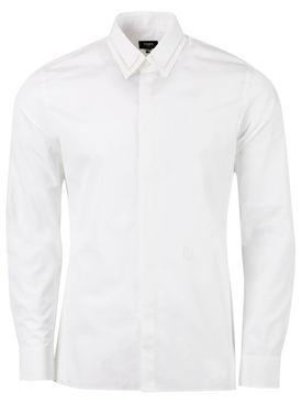 Classic Button Down Shirt, Bianco White