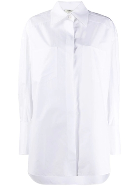 Over-sized Classic White Shirt