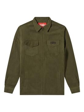 Green Military Shirt