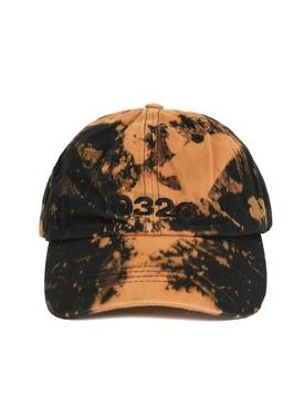 Black Bleached Cap