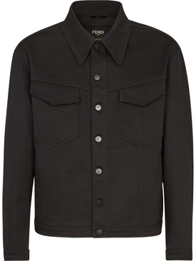 Classic Patch Pocket Jacket, Black