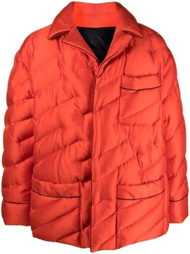 Puffer Blusson Jacket Bitter Red
