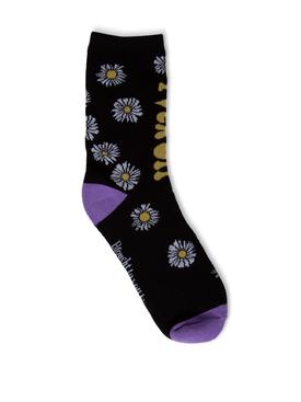 Daisy Socks Black
