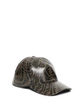 X SARAH COLEMAN VERTIGO LOGO CAP BROWN
