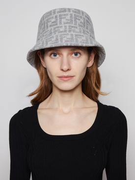 Macro FF Logo Bucket Hat Grey
