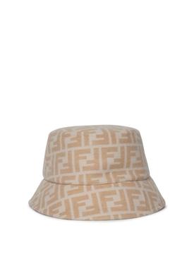 Macro FF Logo Bucket Hat Camel